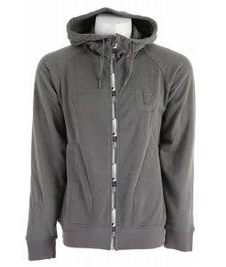 Burton Process Full Zip Hoodie Blotto Grey/Heather