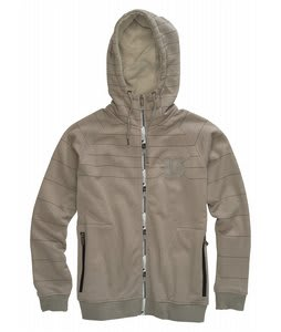 Burton Process Full Zip Hoodie Blotto Sandstoner/Heather