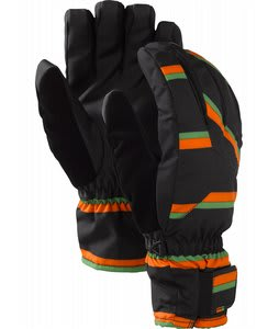 Burton Profile Gloves True Black Marcos Stripe