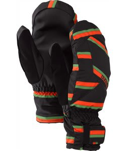 Burton Profile Under Mittens True Black Marcos Stripe