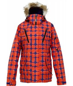 Burton Prowess Snowboard Jacket Visionary Print