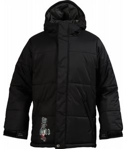 Burton Puffy Snowboard Jacket True Black