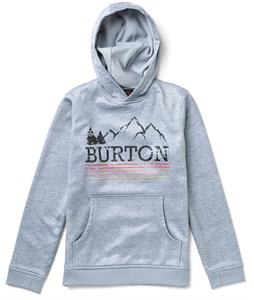 Burton Pullover Bonded Hoodie Pewter Heather