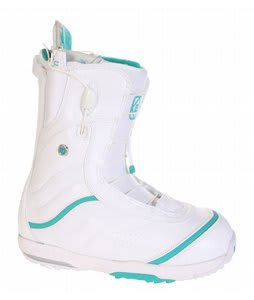 Burton Q Snowboard Boots White