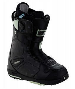 Burton Q Snowboard Boots Black