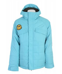 Burton Restricted Dyer Snowboard Jacket Post It Blue