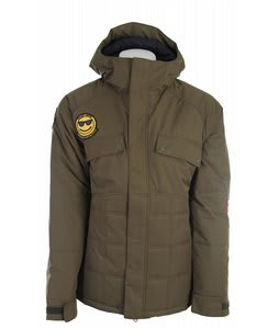 Burton Restricted Dyer Snowboard Jacket Trench Green
