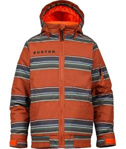 Burton Raider Snowboard Jacket Burner Rug Rat Stripe