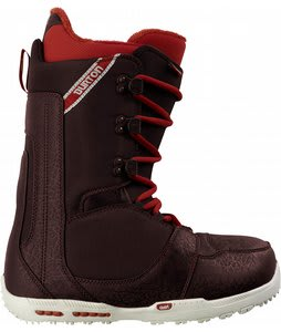 Burton Rampant Snowboard Boots Brown/Red