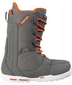 Burton Rampant Snowboard Boots Gray/Orange