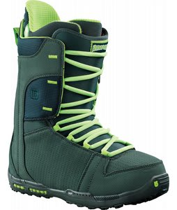 Burton Rampant Snowboard Boots Marine/Lime