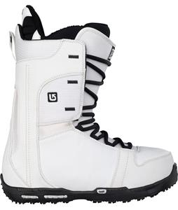 Burton Rampant Snowboard Boots White/Black
