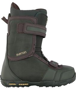 Burton Raptor Snowboard Boots Dark Green/Chocolate