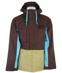 Burton Restricted Ratched Snowboard Jacket Venom/Mocha/Piblue