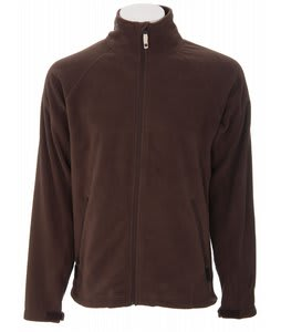 Burton GMP Reason Fleece Full Zip Hoodie Roasted Brn