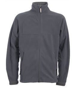Burton GMP Reason Fleece Full Zip Hoodie La Grey