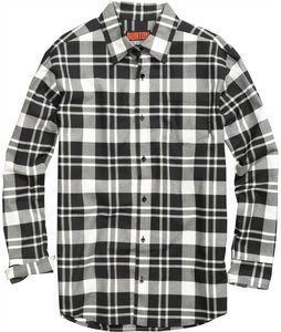 Burton Repel Flannel True Black Tone Plaid