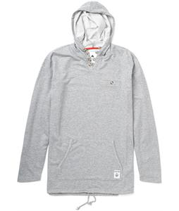Burton Rescue Pullover Hoodie Heather Pewter
