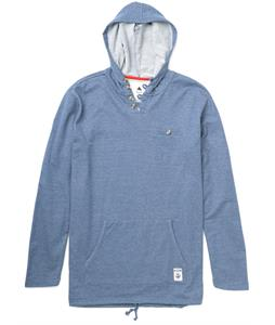 Burton Rescue Pullover Hoodie Heather Team Blue