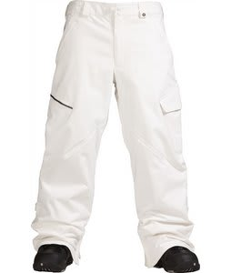Burton Restricted Bates Cargo Snowboard Pants Bright White