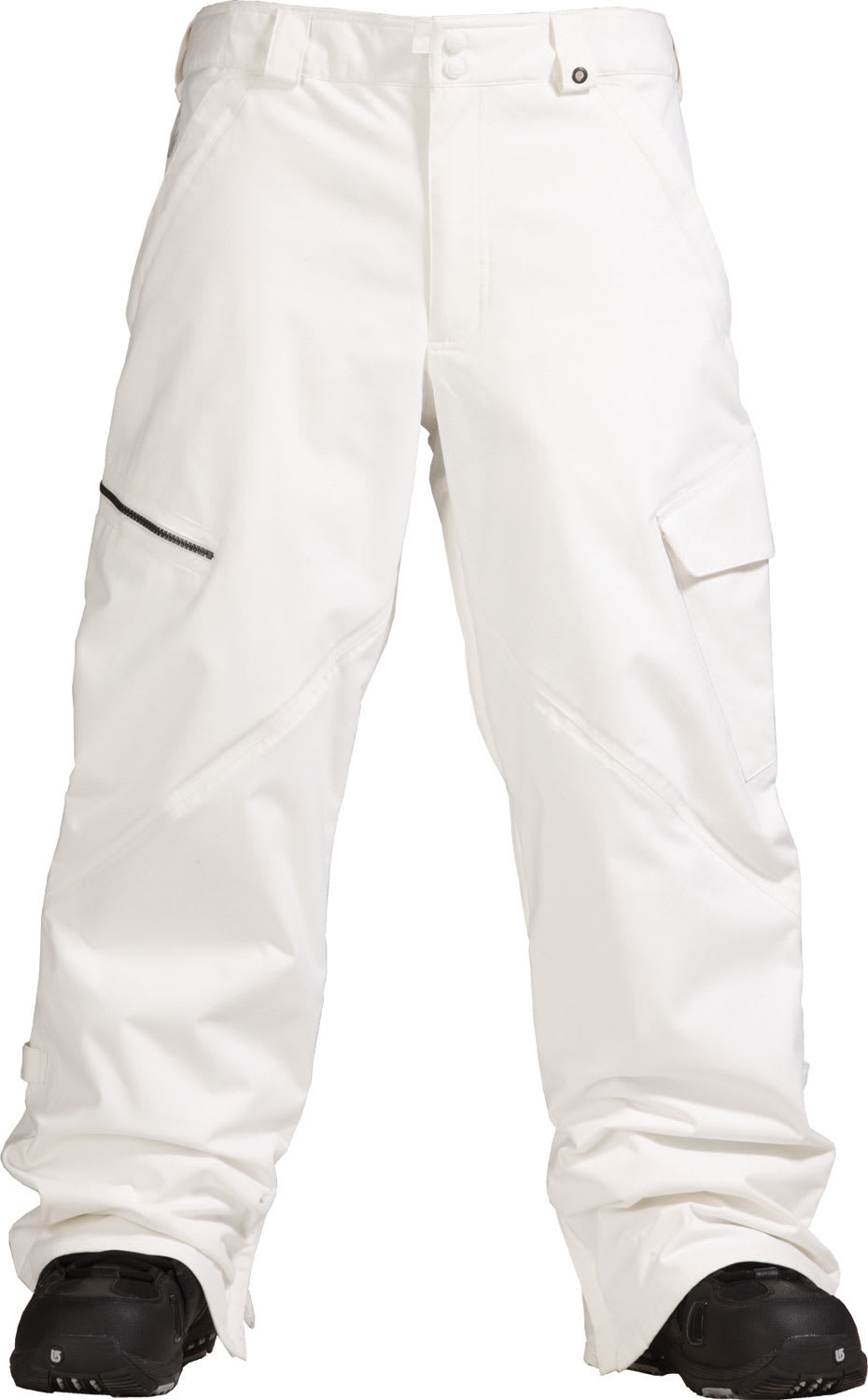 Shop for Burton Restricted Bates Cargo Snowboard Pants Bright White - Men's