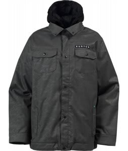 Burton Restricted Cholo Snowboard Jacket Wooly Gray