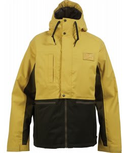 Burton Restricted Ratched Snowboard Jacket Defective Yellow