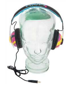 Burton Retro Headphones Black/Graffiti
