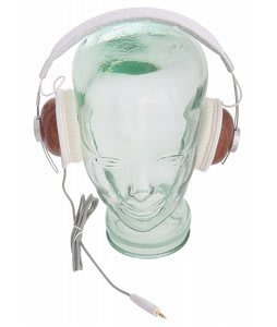 Burton Retro Headphones White/Cherrywood