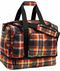 Burton Rider's Travel Bag Majestic Black Plaid