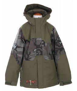 Burton Ripper Snowboard Jacket Camo Patches