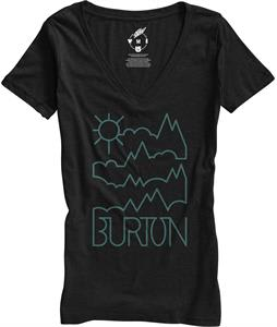 Burton Rise & Shine Recycled V-Neck T-Shirt