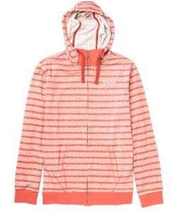 Burton Riv Premium Full-Zip Hoodie Heather Cardinal