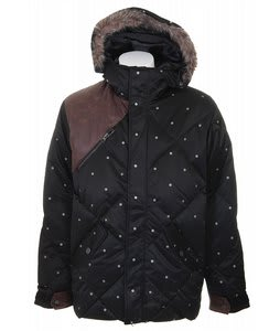 Burton Ronin Audio Stroll Down Snowboard Jacket True Black
