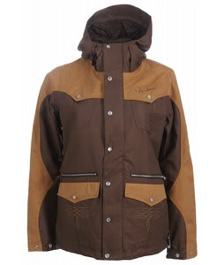 Burton Round Up Snowboard Jacket Roasted Brown