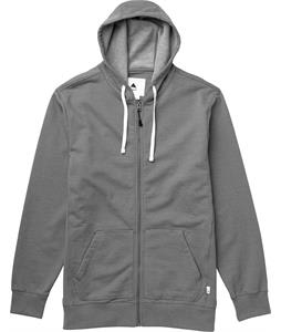 Burton Roe Full-Zip Hoodie Monument Heather