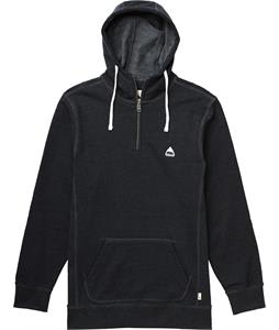 Burton Roe Pullover Hoodie True Black Heather