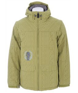 Burton Ronin 6/4 Down Snowboard Jacket Cable Green Tea