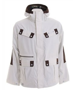 Burton Ronin Flank Snowboard Jacket Bright White