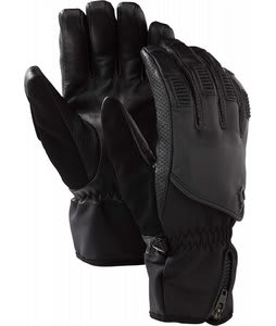 Burton RPM Leather Gloves True Black