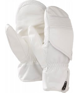 Burton RPM Leather Mittens Stout White