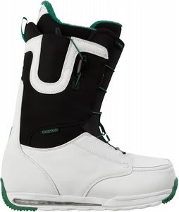 Burton Ruler Snowboard Boots White/Black/Green