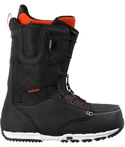 Burton Ruler Restricted Snowboard Boots Black/White/Red
