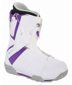 Burton Ruler Snowboard Boots White/Purple