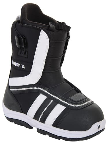 Burton Ruler Smalls Snowboard Boots Black/White