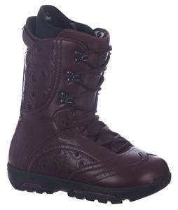 Burton Sabbath Snowboard Boots Oxblood