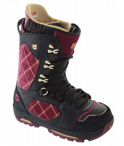 Burton Sabbath Snowboard Boots Black/Crushed Velvet