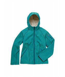 Burton Sanctuary Softshell Jacket Lime Light Feather Jacquard