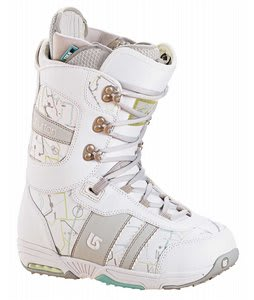 Burton Sapphire Snowboard Boot White/Lt Grey
