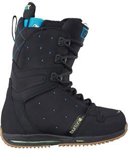 Burton Sapphire Snowboard Boots Black/Blue/Yellow